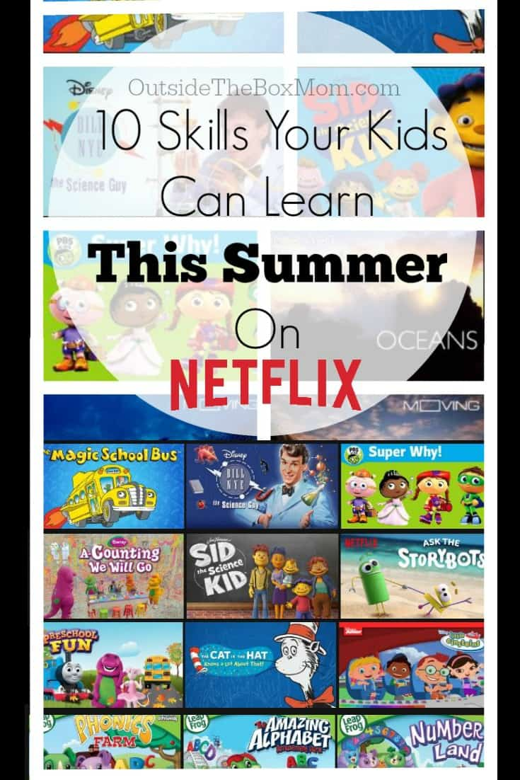 "Who says kids can't learn anything on ""TV"" or that too much screen time is a bad thing? There are plenty of educational, entertaining, and informative shows your kids can watch on Netflix."