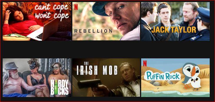 Irish TV Shows on Netflix