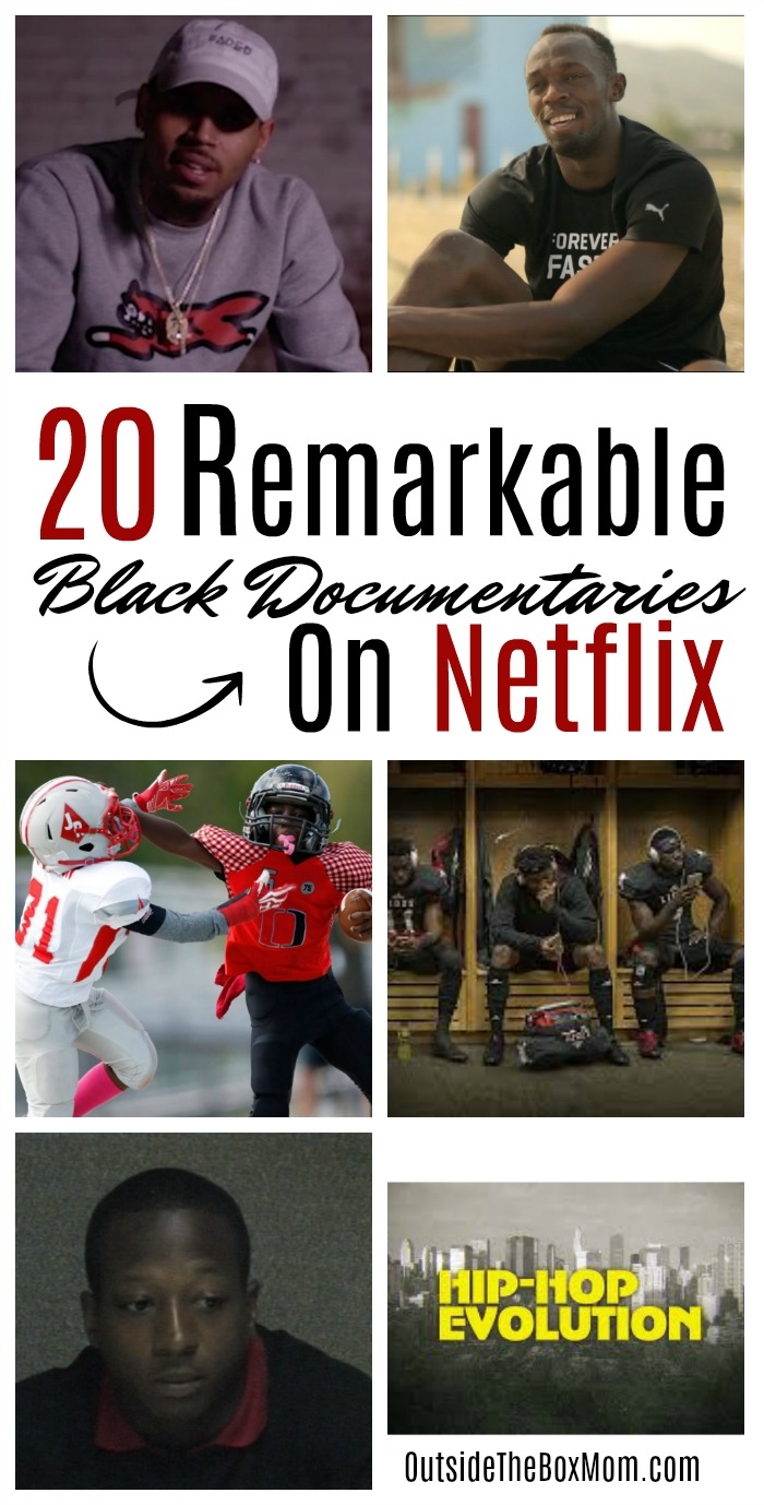 These Black documentaries on Netflix are a few of the black movies on Netflix that feature historical documentaries of the lives of Black and African-American people in the recent history.