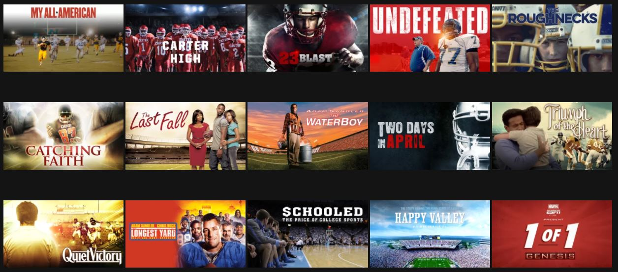 22 football movies on netflix best movies right now. Black Bedroom Furniture Sets. Home Design Ideas