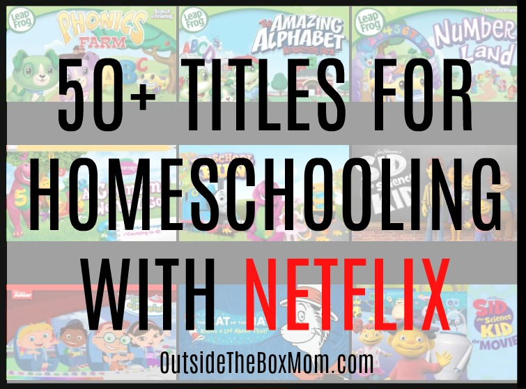 These titles forhomeschooling with Netflixare great to use in your homeschool any time of year.These Netflix titles feature animals, nature, history, science, literature, and more.