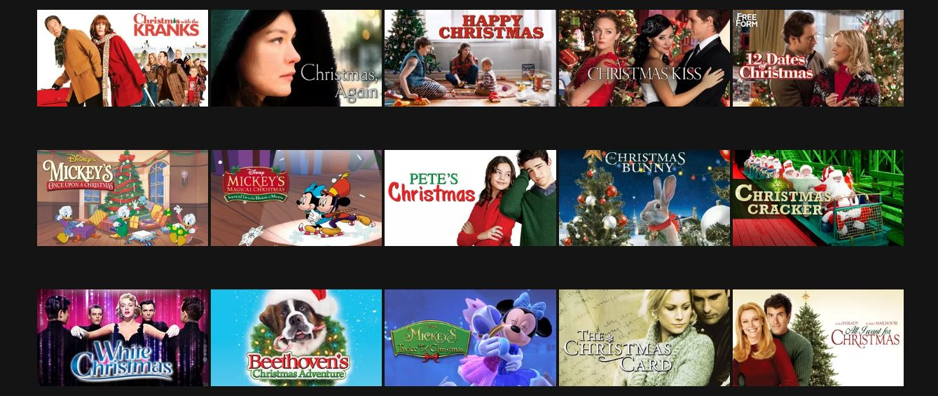 all movies are g or pg rated unless indicated - 12 Dates Of Christmas Trailer