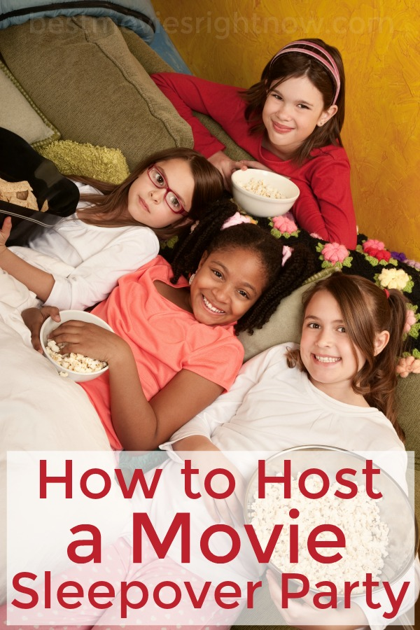 Movie Sleepover Party Ideas - How to Host a Movie Sleepover Party