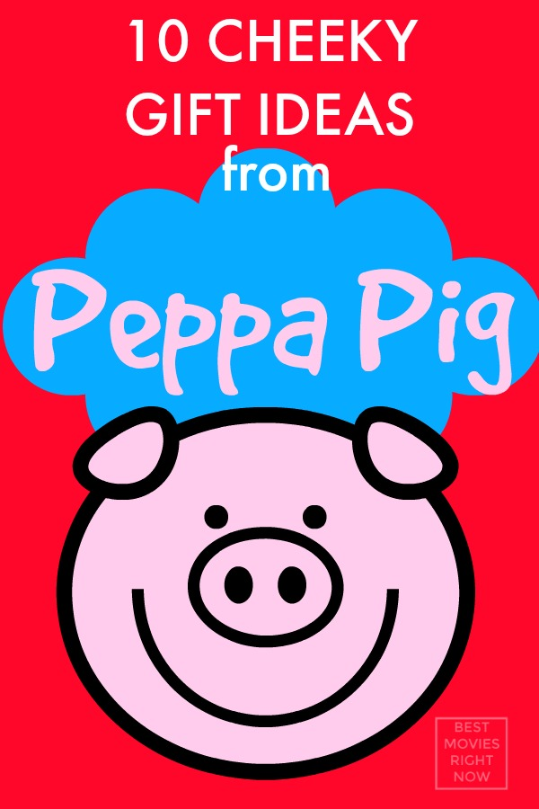 These Peppa Pig gifts are perfect for anyone who loves the movie. Great for birthday or Christmas present.