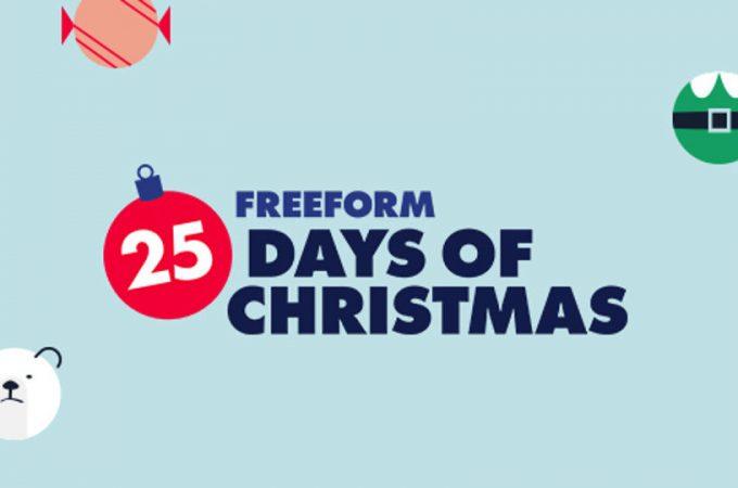 25 days of christmas logo