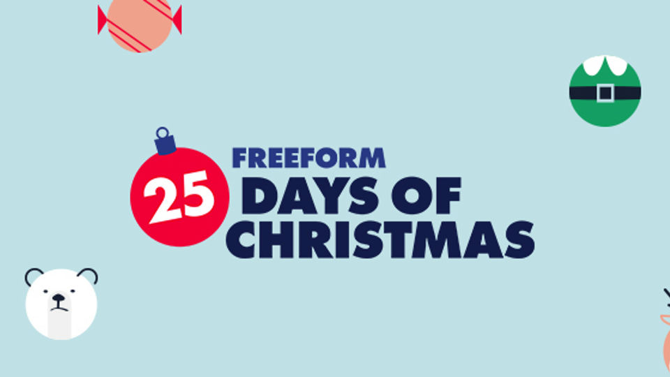 25 days of christmas logo