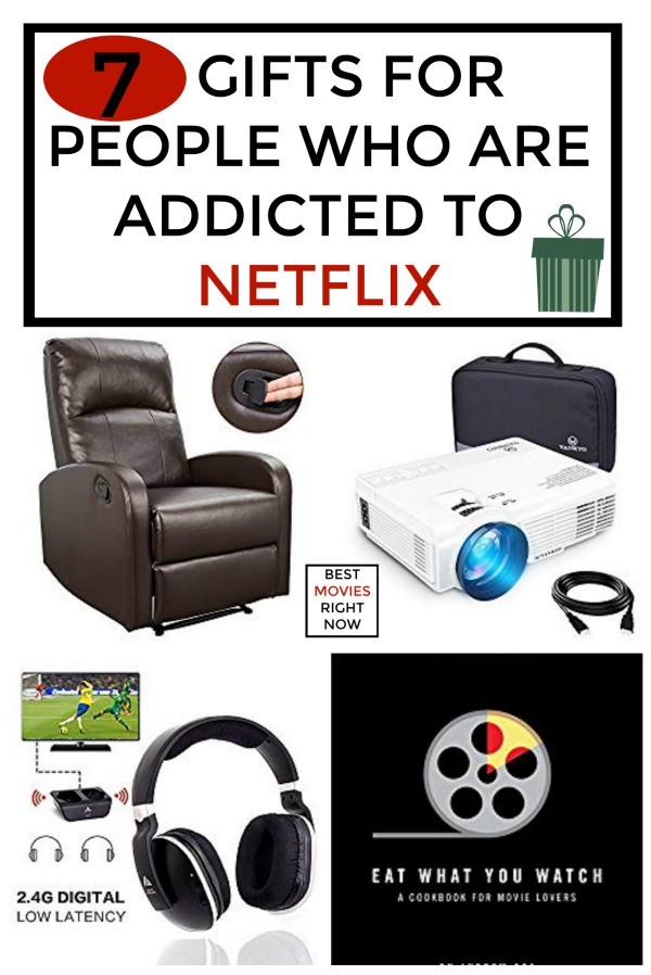 There is no shame in being addicted to Netflix. Here are Christmas gifts for Netflix lovers.