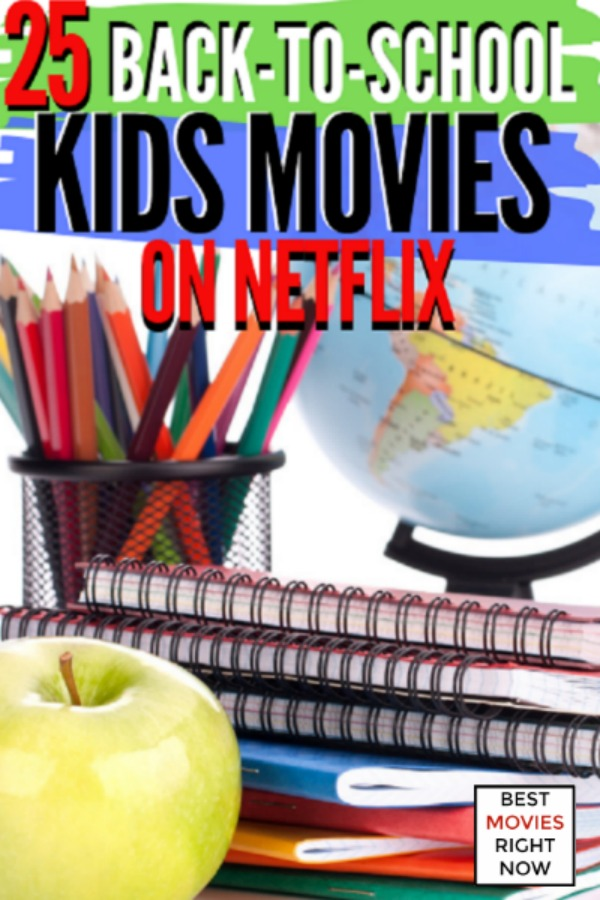 These Back-to-School movies on Netflix are great to watch during Summer, back to school season, or any time of year. These Netflix titles feature comedies, musicals, summer camps, and educational titles.