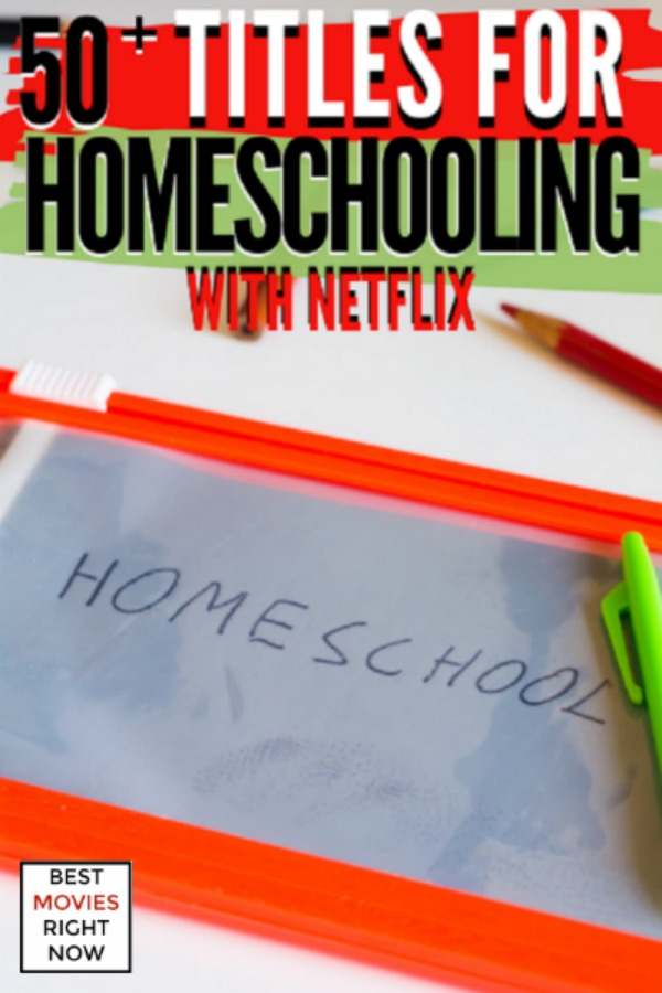 These titles for homeschooling with Netflix feature animals, nature, history, science, literature, and more.