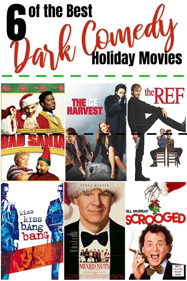 dark comedy holiday movies pin