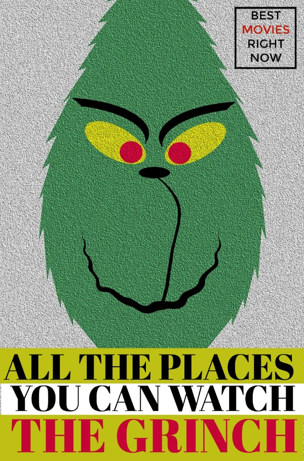Wondering if The Grinch is available on Netflix, Amazon or Hulu? Check out this post to find out all the places you can stream every version of The Grinch.