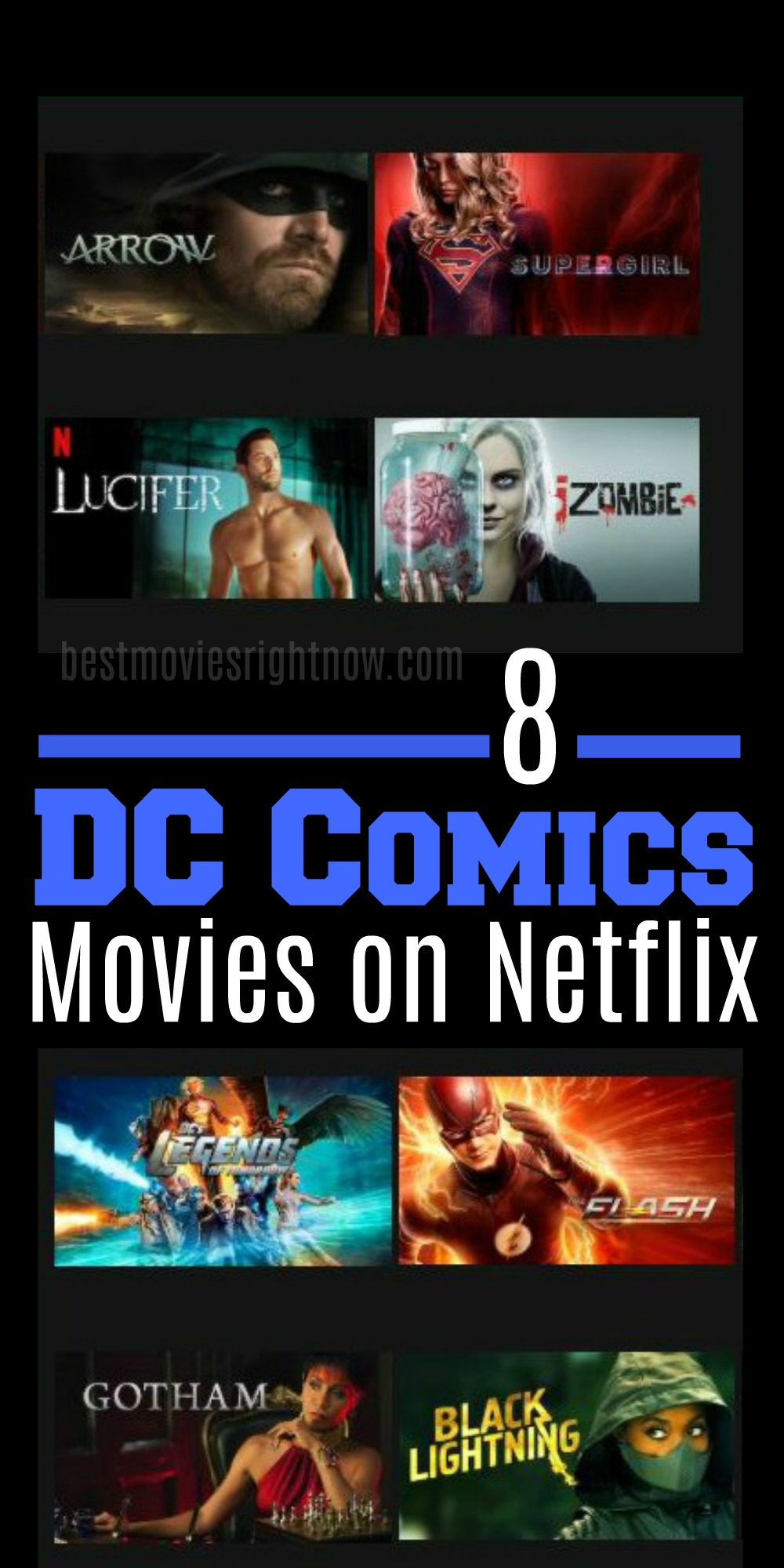 Best DC Comics Shows and Movies on Netflix