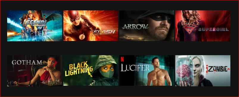 DC Comics Movies on Netflix