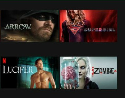 DC Comics Shows and Movies on Netflix