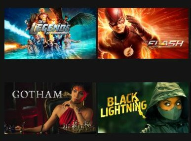 DC Comics Shows on Netflix