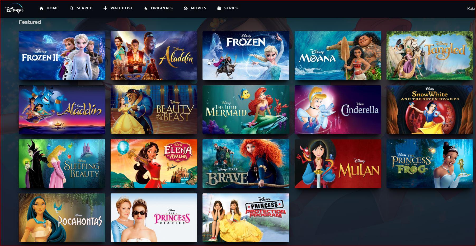 32 Enchanting Princess Movies on Disney+ - Best Movies ...