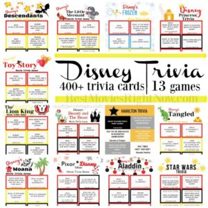 Disney Trivia Games