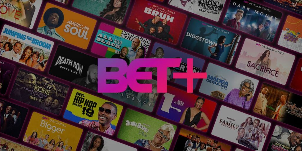 BET Plus catalog