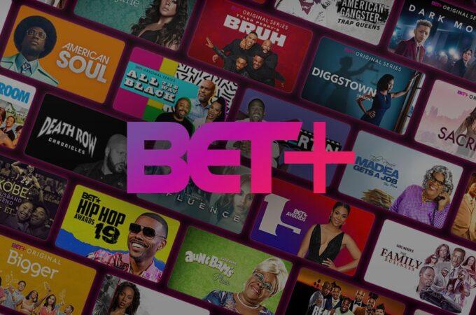 BET Plus catalog