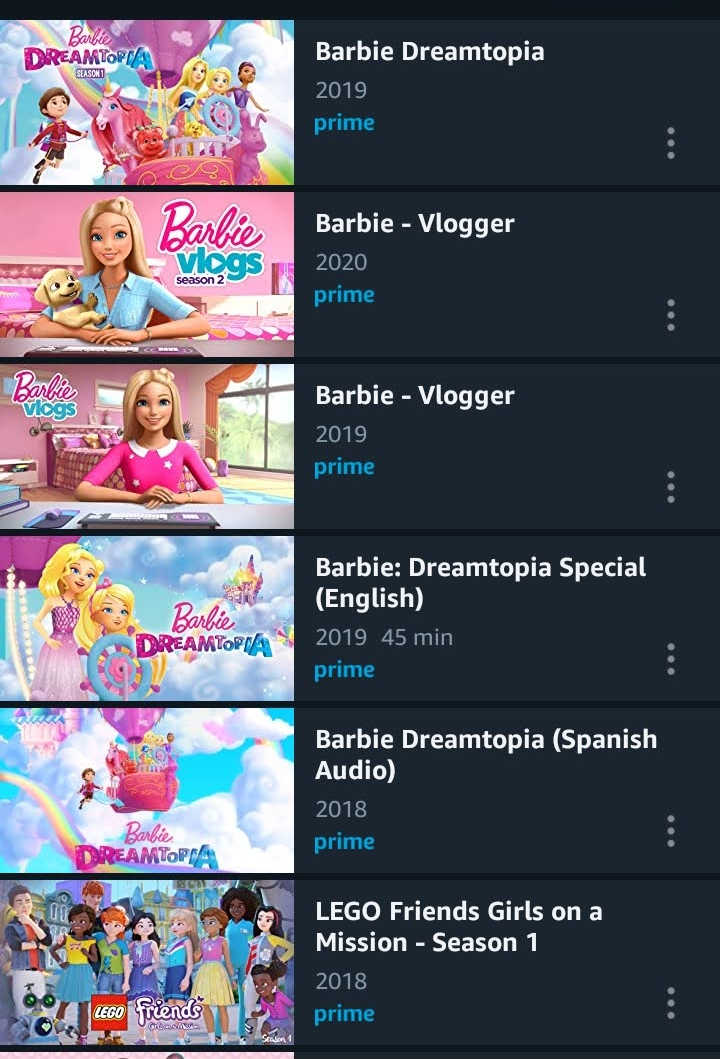 All Of The Barbie Movies On Amazon Prime Video Best Movies Right Now