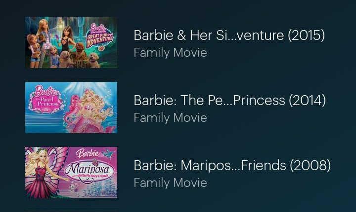 Barbie on Hulu