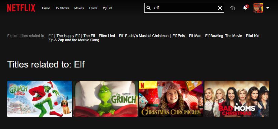 elf movie netflix